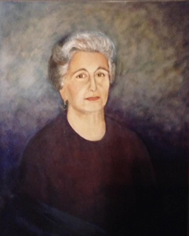 Elena Soriano - 92 x 73 cm