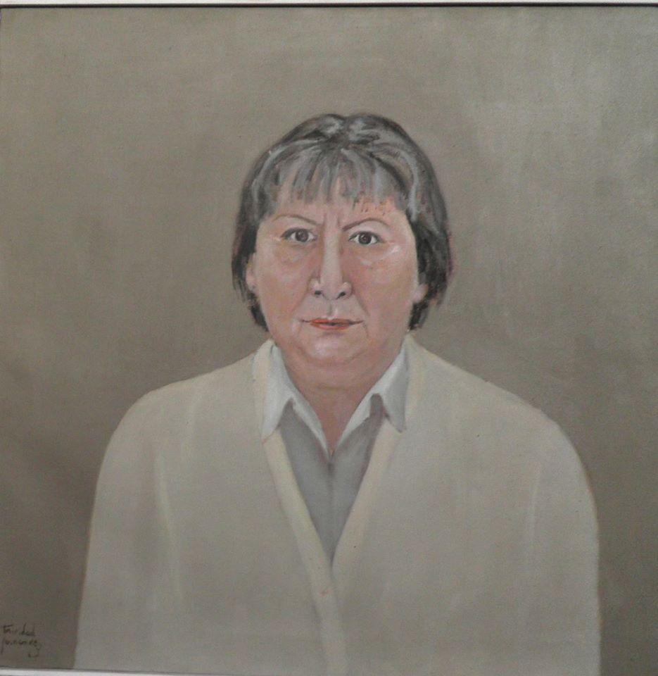 Gloria Fuertes - 60 x 60 cm