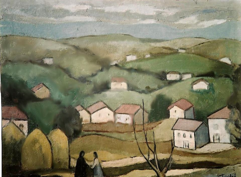 Paisaje Asturiano - 81x60 cm