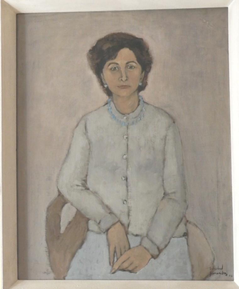 Señora de Eduardo Vigil - 92 x 73 cm